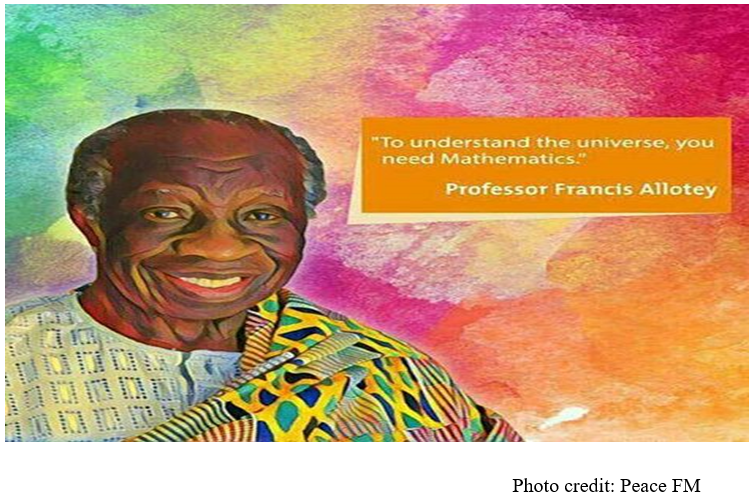 Parliament eulogises Professor Francis Kofi Ampenyin Allotey, the late Mathematician and Scientist