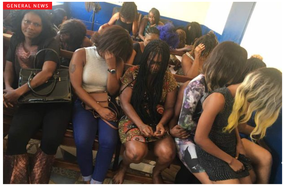 23 Prostitutes Fined GH¢11,000