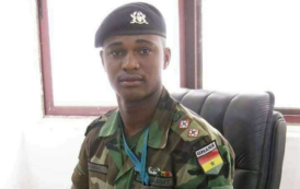 Major Mahama and army men allegedly protected illegal mining company