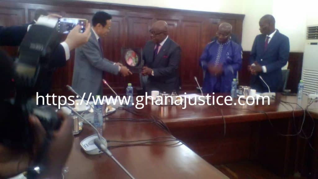 Forged documents, our major challenge in the embassy - China Ambassador to Ghana